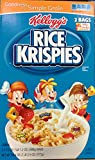 Kellogg's Rice Krispies Toasted Rice Cereal, Large 34.4 Ounce Box - 2 Bags