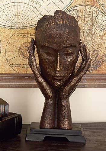 Deco 79 meditación de polipiedra, 16 por 8 Pulgadas