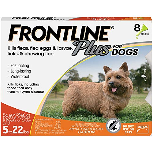 Frontline Plus Flea and Tick Treatment for puppies