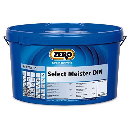 Zero Select Meister DIN 12,5 Liter Weiß