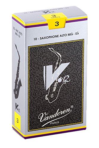 Vandoren SR613 - Caja de 10 cañas v12 n.3 para saxofón alto