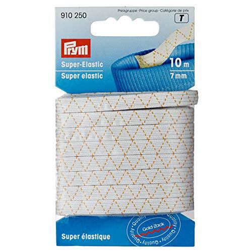 Prym Super-Elastic 7 mm weiß