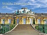 Welterbe Deutschland - Kalender 2021 - Teneues-Verlag - Wandkalender - Fotokalender mit wunderschönen Aufnahmen unserer Heimat - 63,8 cm x 47,8 cm - Küchenkalender