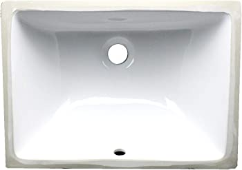 Nantucket Sinks White Undermount Bathroom Sink