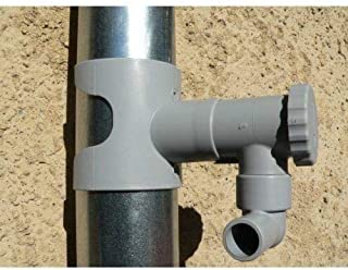 Regentonne, Capt Wasser für Leitungen Circular (grau)
