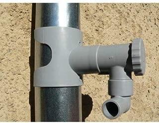 Capt'eau Recuperador de Aguas pluviales.para goterón de 80 a 100 mm. SIN Cortar EL Tubo.