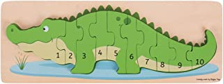 Best wooden crocodile number puzzle Reviews