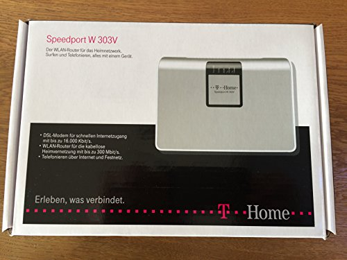 Deutsche Telekom Speedport W303V - Wireless LAN Router