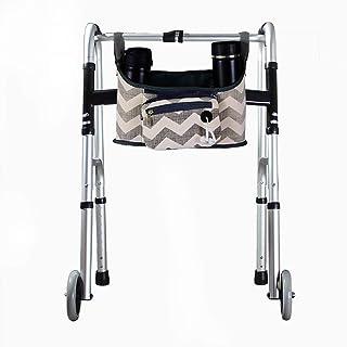 Wheelchair Side Bag, Hands Free Walker Bag, Durable Walker Rollator Scooter Accessory Storage Tote Bag, Folding Walkers Or...