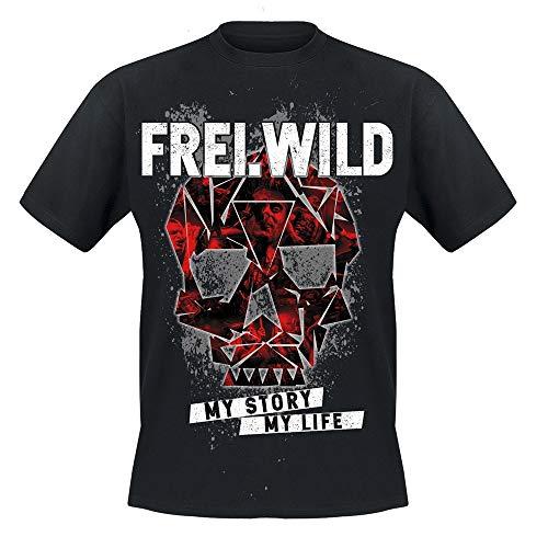 Frei.Wild - My Story My Life, T-Shirt, Farbe: Schwarz, Größe: L
