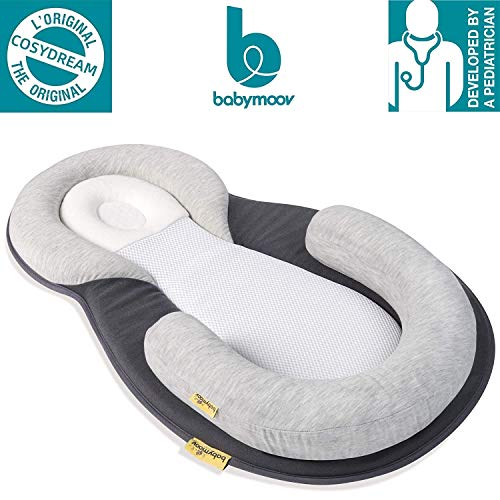 Babymoov Cosydream Original Newborn Lounger | Ultra-Comfortable Osteopath Designed Nest Certified Safe for Babies (Baby Registry Must-Have)