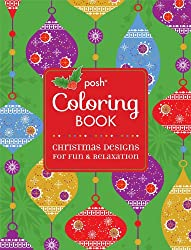 Posh Coloring Book Christmas Designs