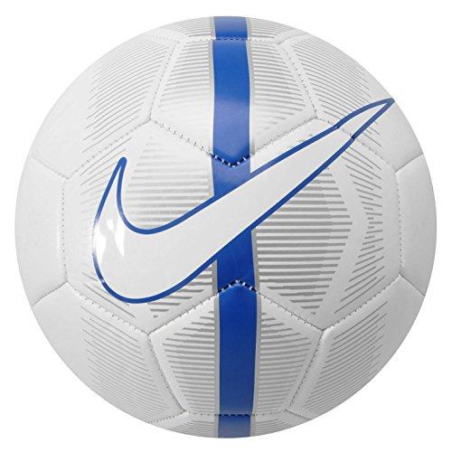 NIKE Ball Mercurial Fade - Balón de fútbol, Color Blanco, Talla 5