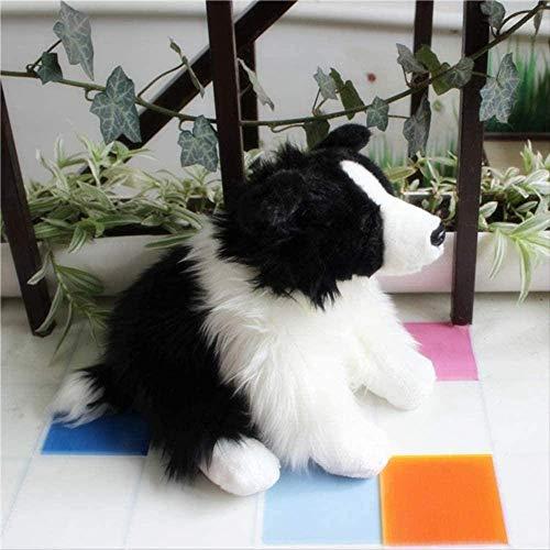 DINGX Qualität Nette Weiche Tier Plüschtier 30cm Mini Haustier Tier Hund Shepherd Hund Für Kinder Geschenk Dekoration Zubehör Chuangze