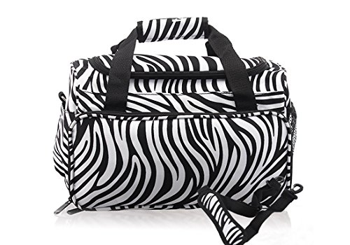 Hair Tools Hair Dressing detachable Carry Case Strap Hair Organiseur outils Bag for Hair dressers Zebra Design Professional