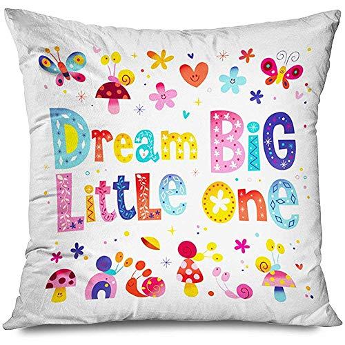 SSHELEY Pillow Cover Dream Big L...
