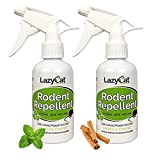 Lazy Cat Rodent Repellent - Peppermint Oil Spray - Repels Mice and Rats - Extra Strength - All Natural (2)