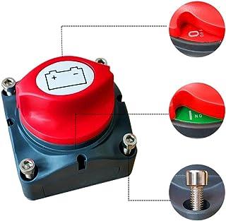 Shiwaki Auto Boot LKW Anh/änger Wohnmobil Batterie Trennschalter Isolator Drehgriff