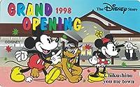 テレホンカード テレカ ©Disney The Disney store Grand Opening 1998 Chikushino you me town 50度数