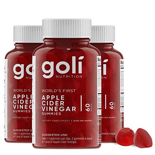 Apple Cider Vinegar Gummy Vitamins by Goli Nutrition - Immunity, Detox  Indiana