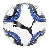 Puma Final 5 HS Trainer Balón de Fútbol, White/Team Power Blue Black, 3
