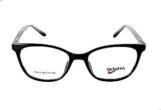 بادوفا اطار نظارة للنساء، لون اسود، موديل P8016