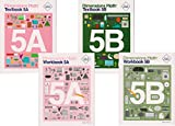 Dimensions Math Level 5 Kit (4 Books) -- Textbooks 5A and 5B, and Workbooks 5A and 5B