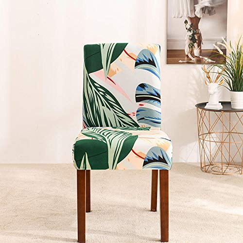 Leaf Sofa Protective Cover Color One-Piece Sofa Cover Suitable For Hotel Restaurant Dining Chair Cover Stool Cover