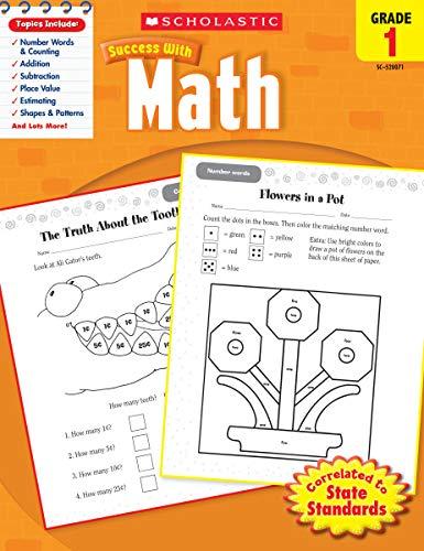 Scholastic Success with Math, Grade 1 (Scholastic Success with Workbooks: Math)