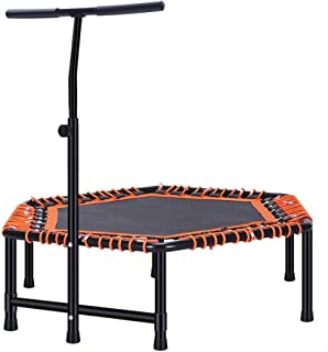 Trampoline Adult Gym Jumping Bed Home Children's Indoor Bounce Bed Sports Weight Loss Equipment Folding Elastic Rope Jumpi...