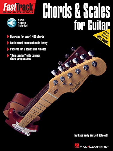 FastTrack Guitar Method - Chords & Scales - with Audio Demos & Play-Along Tracks (English Edition)
