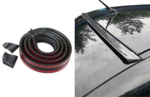 Dachspoiler Heckspoiler Spoiler Blende Lippe Carbon Schwarz für viele Fahrzeuge