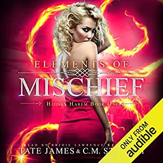Elements of Mischief audiobook cover art