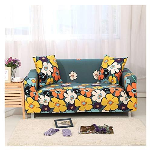 `Star Empty Funda elástica para sofá de sala de estar, funda de sofá todo incluido, funda de sofá en forma de L (color: V, especificación: 1 asiento de 90 a 140 cm)