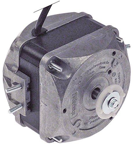 EBM-PAPST M4Q045-CF01-75 Lüftermotor 230V 16W 1300/1550U/min 50/60Hz 5 Befestigungsoptionen Breite 72mm Geschwindigkeiten 2
