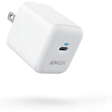 Anker PowerPort III 20W (PD 充電器 USB-C)【PSE技術基準適合/PowerIQ 3.0 (Gen2) 搭載】iPhone 12 / 12 Pro iPad Air(第4世代) Android その他 各種機器対応 (ホワイト)