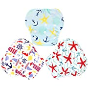 Lansprit 3 Pack Swim Diaper for Baby & Toddle,Reuseable Washable Diaper Swim for Swimming Lesson & Baby Shower Gifts