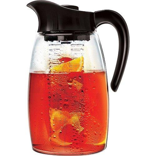 Epoca Tea Pitcher Théière Noir 2,74 l