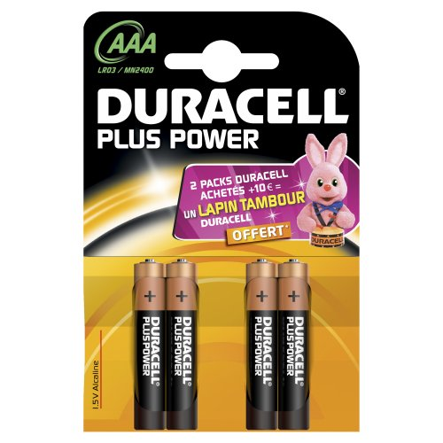 Duracell 4 AAA 1.5V