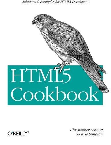 Html5 Cookbook (Cookbooks (O'Reilly))