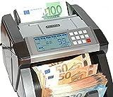 Banknotenzähler Geldzählmaschine Geldscheinzähler Wertzähler Geldzähler Geldscheinprüfer erkennt alle neue 100 und 200 EUR - 7