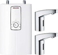 STIEBEL ELTRON, 239107, elektronische compacte doorstroomverwarmer DCE 11/13, met 2 sensorarmaturen, selecteerbaar vermoge...