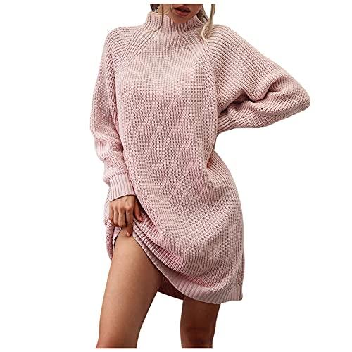 RMH - Vestido largo para mujer, diseño de leopardo, 23-rosa, M