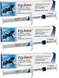 (3 Pack) Bimeda Equimax Horse Wormer Ivermectin 1.87 Percent and Praziquantel 14.03Percent Paste Tube