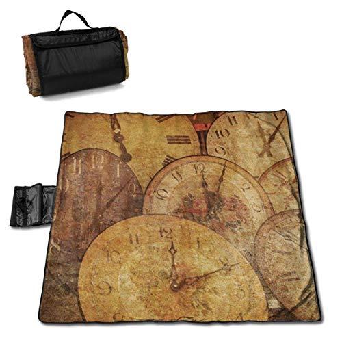 End Nazi Picknick Decke Uhr Antike Pfeil Outdoor Sand Proof/Tragbare Strandmatte Outdoor Picknick Zubehör