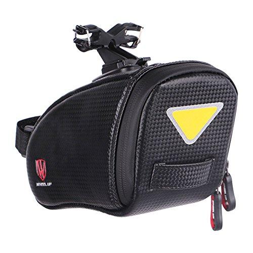 Zantec Sillín de bicicleta Bolsa Agua Densidad Rear Bag Ciclismo reflectantes traseros Seat cola bolsillo grande MTB Bike Accesorios