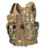 GZ XINXING S - 4XL Tactical Airsoft Paintball Vest (CP)