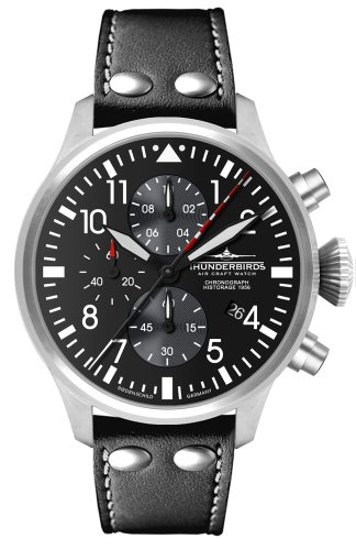 Thunderbirds - Historage 1956 Chrono - Quarz Chronograph mit Lederband - Ref. 1074