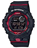 Casio G-Shock Men's GBD800-1 Bluetooth G-Squad Digital Watch, Black/Red (BLKRED/1), One Size