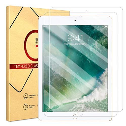ZhuoFan 2 Stück Schutzfolie für Apple iPad Pro 10.5 2017 / iPad Air 3 2019 (iPad Air 3rd Generation) 10.5 Zoll, Gehärtetem Panzerglas Folie Glas Bildschirmfolie Schutzglas Bildschirmschutz [Blasenfrei]